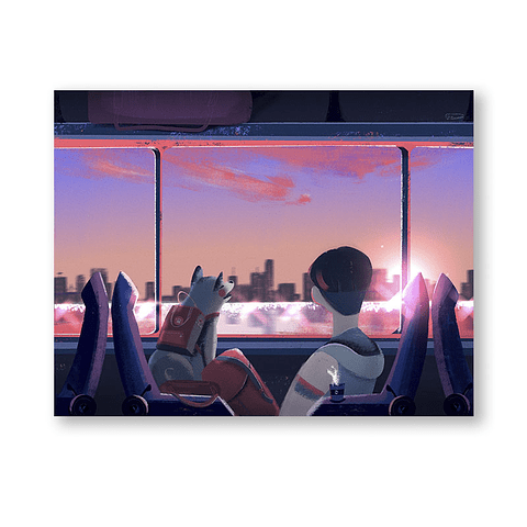 Print Train trip