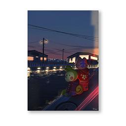 Print Won & Don Paseito nocturno (warm)