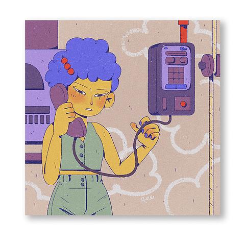 Print Un tranvia llamado Marge
