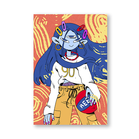 Print Aquarius