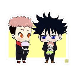 Sticker Itadori & Fushiguro