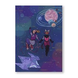 Print Catadora en el espacio