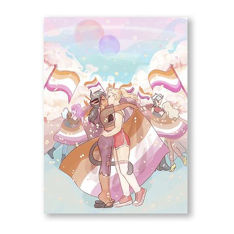Print She-Ra Pride Parade