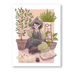 Print Willow plantitas