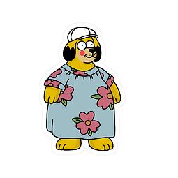 Sticker Homero gordog