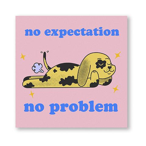 Print no expectation