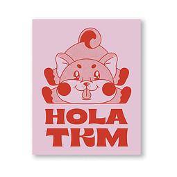 Print hola TKM