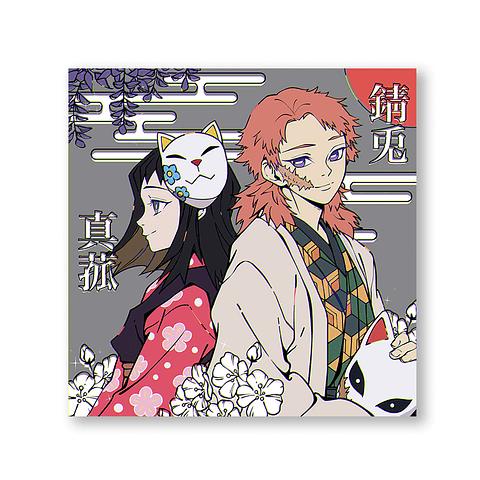 Print Sabito & Momoko