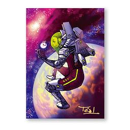 Print Cohete Lunar
