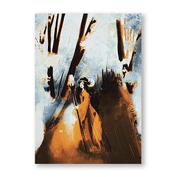 Print Brujita del bosque encantado
