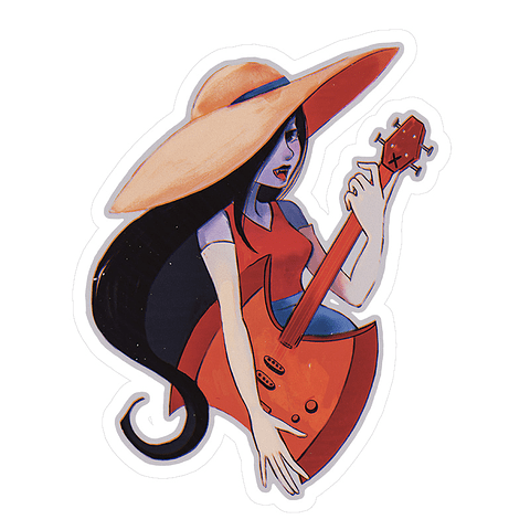 Sticker Marceline, la reina vampiro