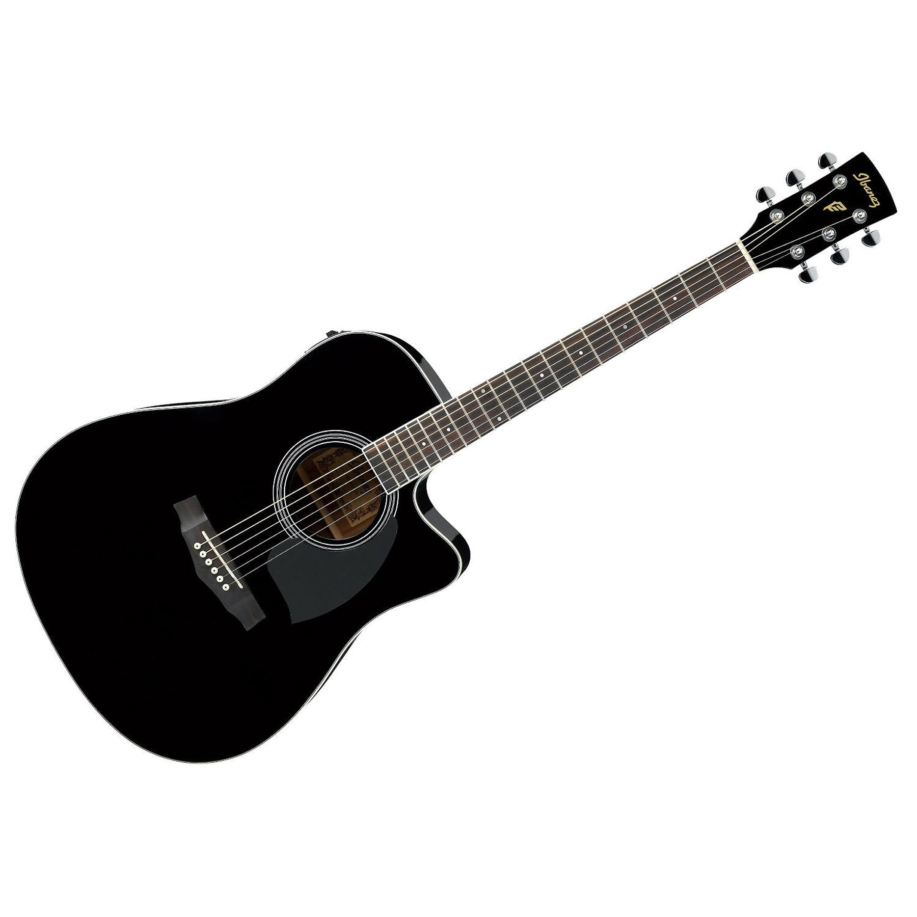 Guitarra Electroacustica Ibanez PF15ECE BK