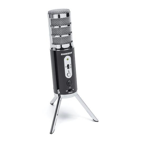 Microfono Condensador USB Samson Satellite