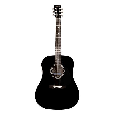 Guitarra electroacustica Mercury MSEA1 Negra