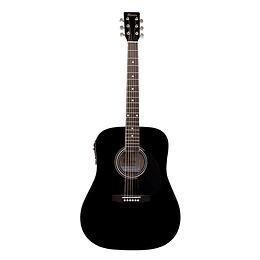 Guitarra electroacústica Mercury MSEA1 Negra
