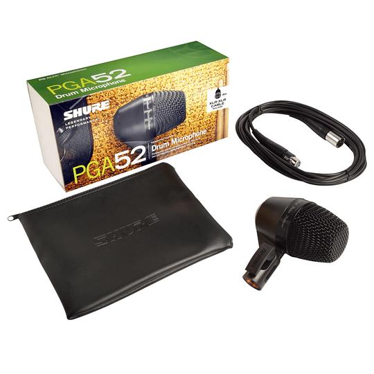 Microfono Dinamico Cardioide para Bombo Shure PGA52