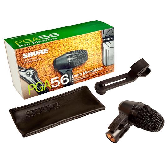 Microfono Dinamico Cardioide Shure PGA56-XLR