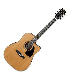 Guitarra Electroacustica Cuerdas Metal Ibanez PF17ECE LG