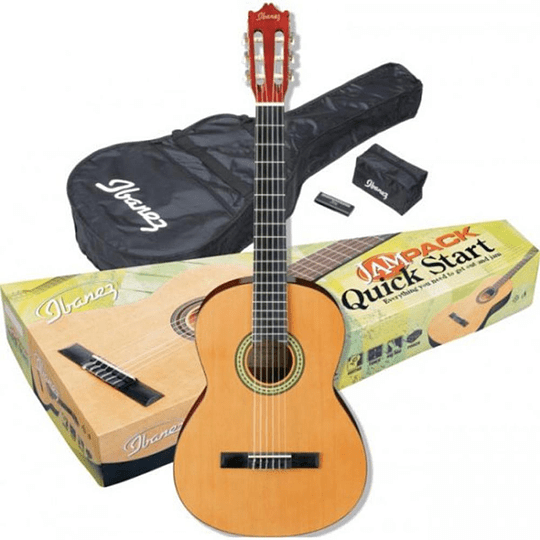 Set de guitarra acústica Ibanez GA3NJP-AM