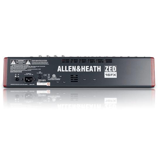 Mixer análogo 16 canales Allen & Heath ZED-16FX