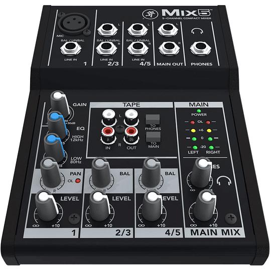 Mixer Analogo Mackie MIX5