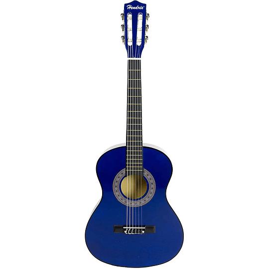Guitarra acustica 36'' Azul Hendrix HX0022