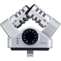 Microfono Lightning X/Y Zoom iQ6