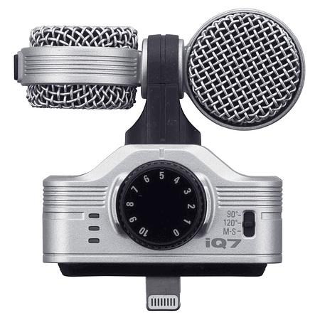 Microfono Estereo Lightning Zoom iQ7