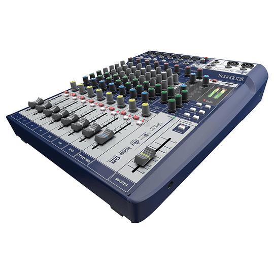 Mixer analogo 10 canales Soundcraft Signature 10