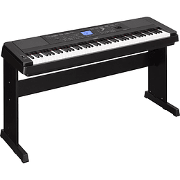 Piano digital Yamaha DGX-660 Black