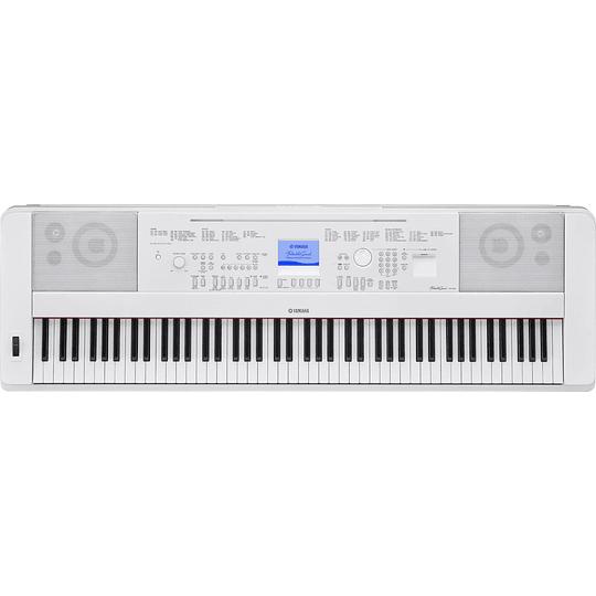 Piano digital Yamaha DGX-660 White