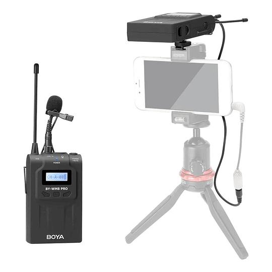 Microfono Inalambrico Solapa Boya BY-WM8 PRO -K1
