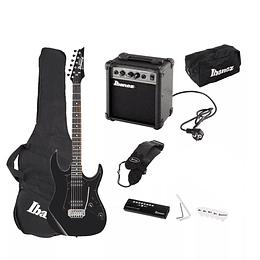 Set de Guitarra Eléctrica Ibanez IJRX20U-BKN