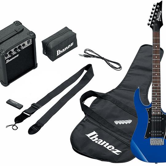 Set de Guitarra Eléctrica Ibanez IJRX20U-BL
