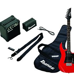 Set de Guitarra Eléctrica Ibanez IJRX20U-RD