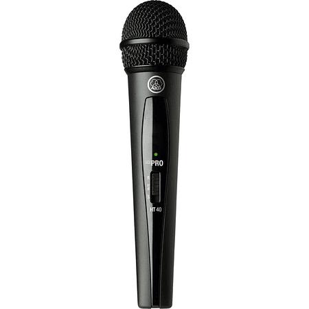 Microfono Inalambrico Mano AKG WMS40 Mini Vocal Set Band 25C UHF