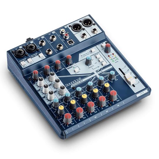 Mixer Analogo Soundcraft Notepad-8FX