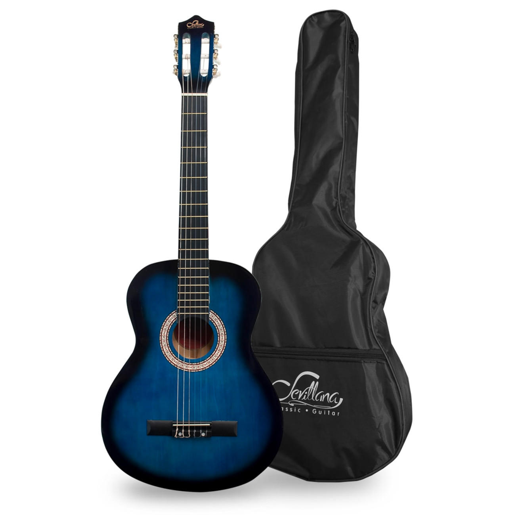 Guitarra Acustica 39'' Sevillana 08449 Blueburst