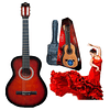 Guitarra Acústica 34'' Sevillana 08459 Sunburst