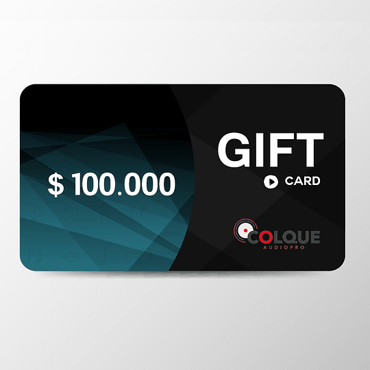 Gift Card 100 mil