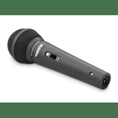 Microfono Vocal Dinamico Novik FNK-5