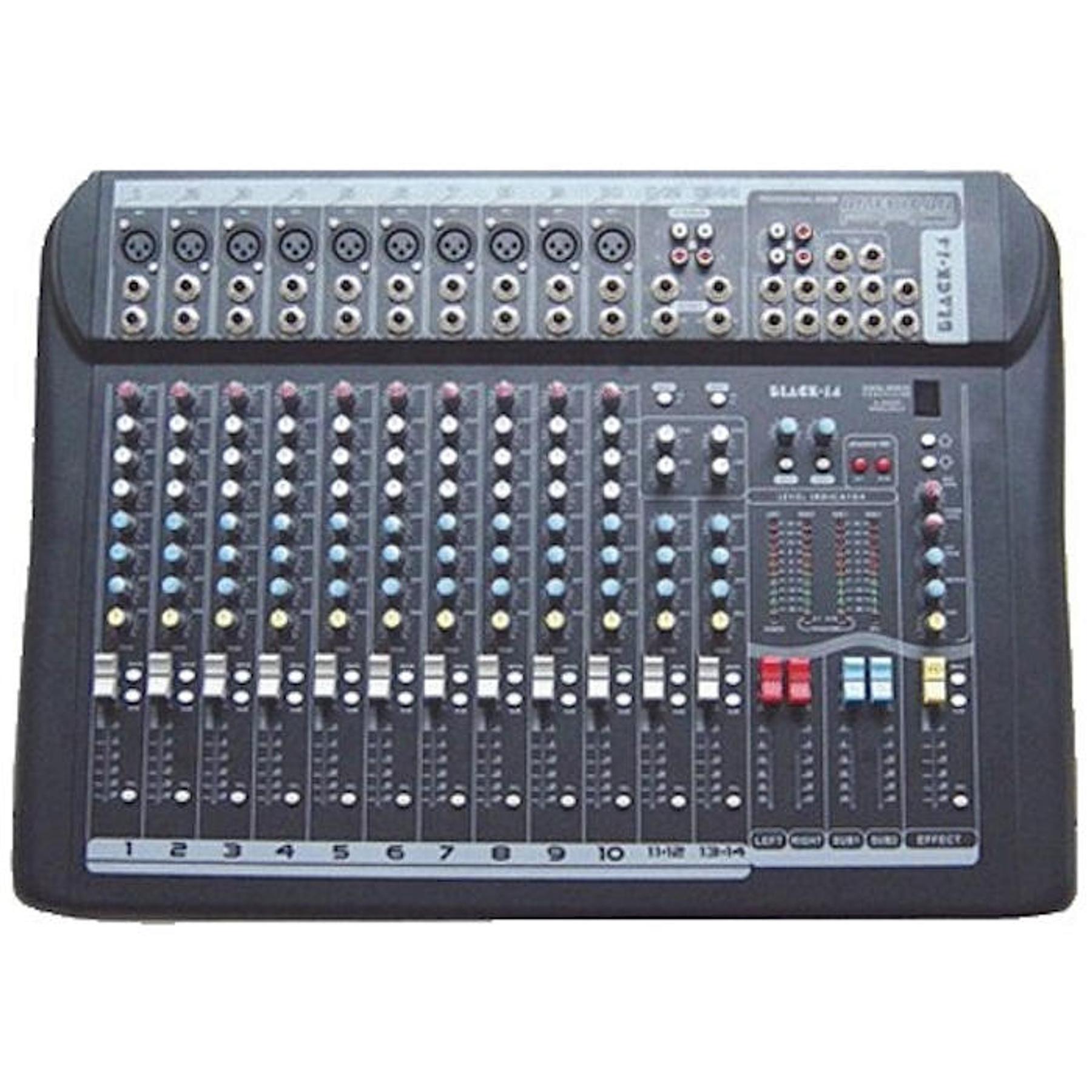 Mixer 14 canales American Pro Black 14
