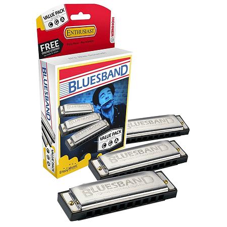 Set de armonicas M559XP Bluesband Afinaciones C, G Y A