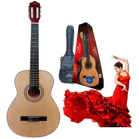 Guitarra Acustica 34'' Sevillana 08458 Natural