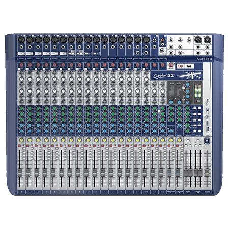 Mixer Analogo SoundCraft Signature 22