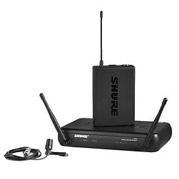 Sistema Microfono Inalambrico lavalier Shure SVX14US/CVL-J9