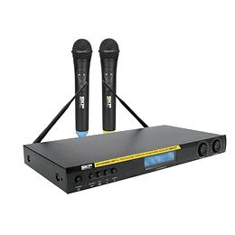 Sistema Inalambrico de Mano Doble SKP UHF-471