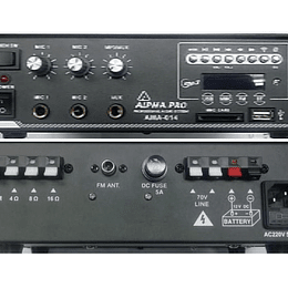 Amplificador Ambiental Alpha Pro AMA-014