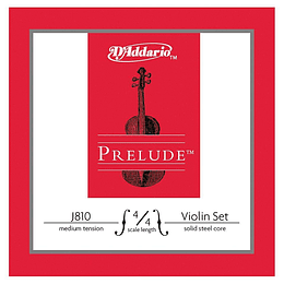 Set de cuerdas para violin 4/4 D'Addario J810