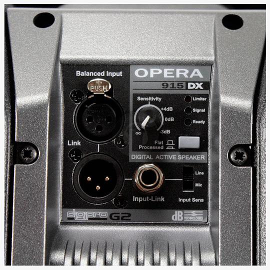 Caja activa DB Technologies Opera 915 DX